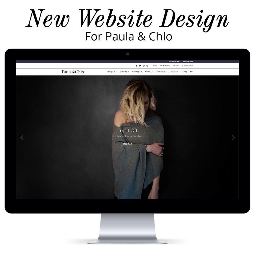 New Website for Paulaandchlo by Design Edit Studio