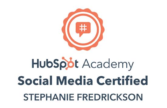 HubSpot Social Media Marketing Certified
